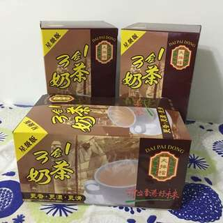 現貨ing 香港代購 香港必買伴手禮 大排檔 星級版 3合一港式即溶奶茶 一盒10入