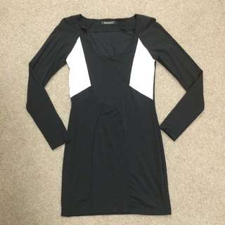 Brace well Bodycon dress size 0