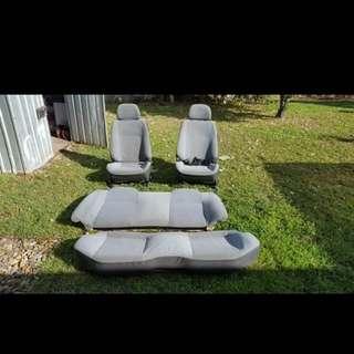 Subaru Impreza Stock Seats