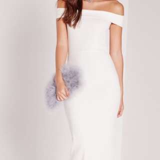 white ball/maxi dress