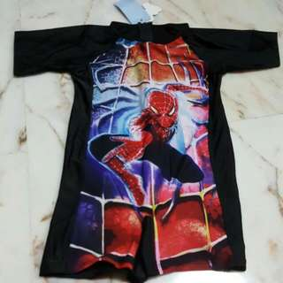 Spiderman Swimsuit For kids for 7-8 years old