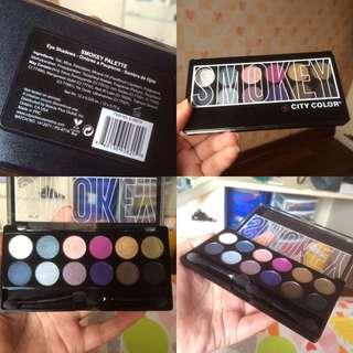 City Color Smokey Eyeshadow Palette