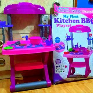 Preloved Kitchen Playset