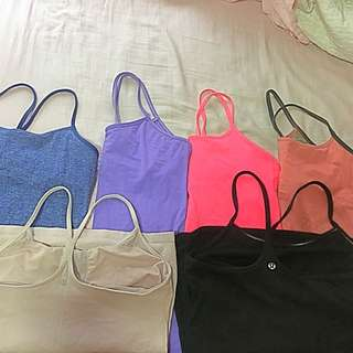Lululemon Razor Back Y Tanks