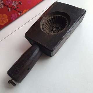 NOT FOR SALE - Antique Moon Cake Mould