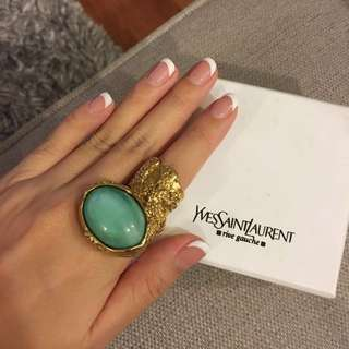 YSL Arty Ring Sz 5