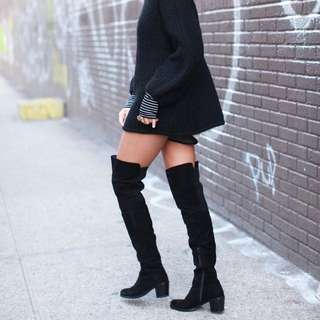 Stuart Weitzman Over The Knee Hitest Boots