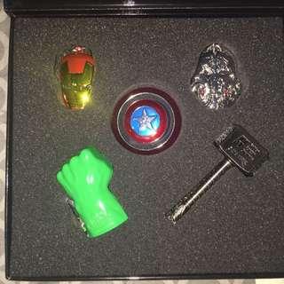 """GSC """"Avenger - Age Of ultron"""" Full set Key Chain"""