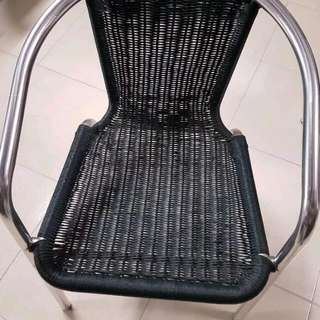 Set Of 5 Cafe Chairs