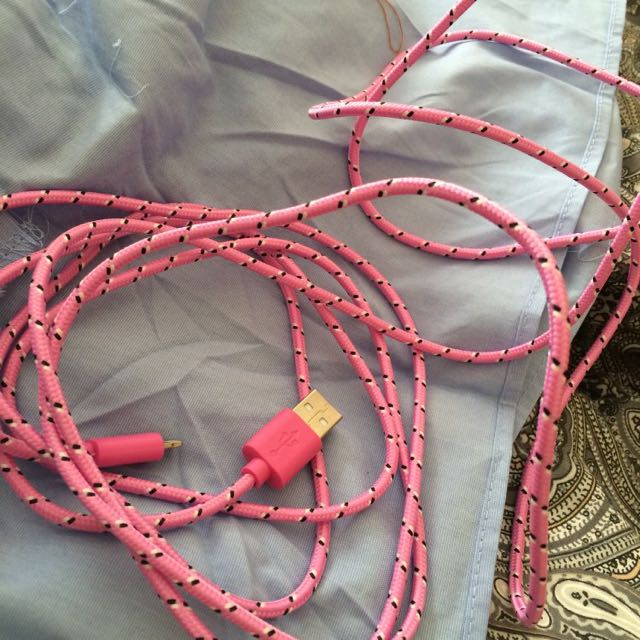 3m iPhone Charger (Pink)