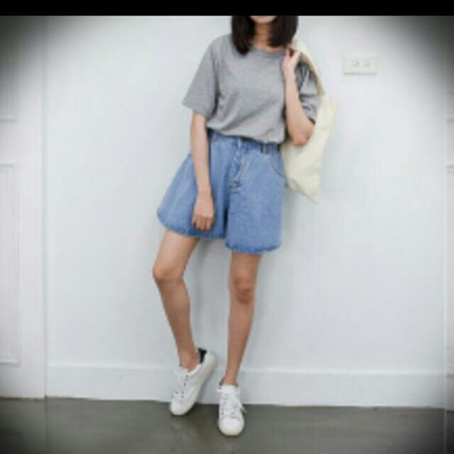 (全新)寬版短褲