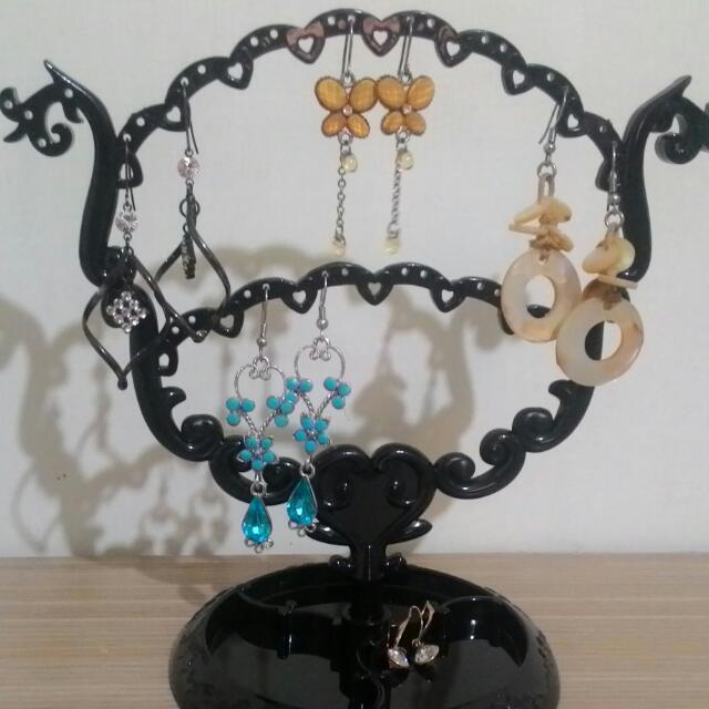 復古 耳環收納架