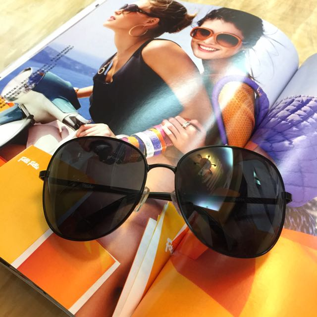中性 細框 太陽眼鏡 墨鏡
