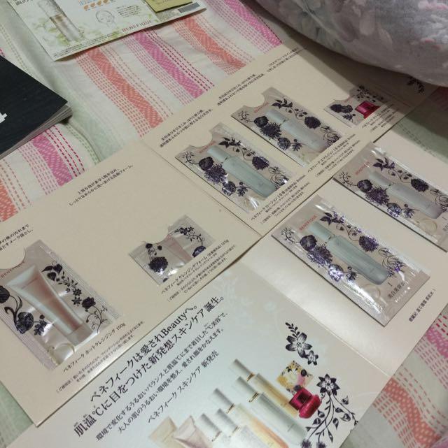 #資生堂 碧麗妃 溫度C循環  試用品