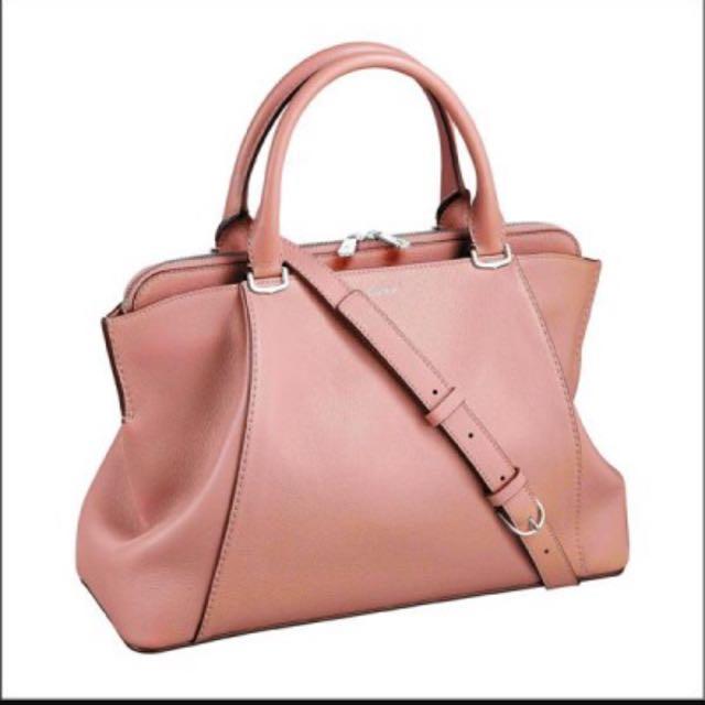 降價!!粉紅色 C De Cartier小牛皮手袋
