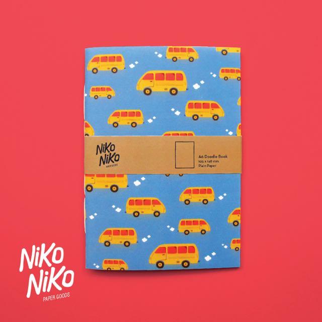 A6 Doodle Book - Angkot