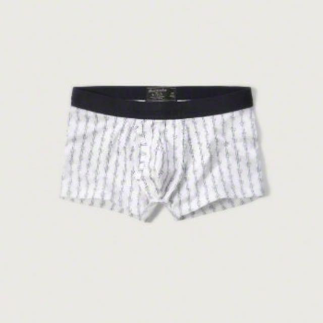 Abercrombie & Fitch   A&F   美國潮牌麋鹿 短版四角內褲
