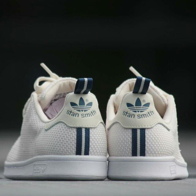 Adidas Stan Smith CK chalk White / Shadow Blue Size 10