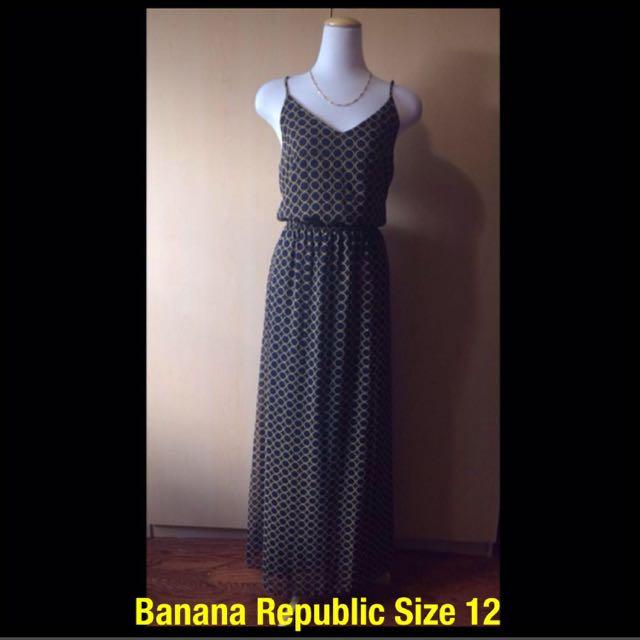 Banana Republic Maxi Dress