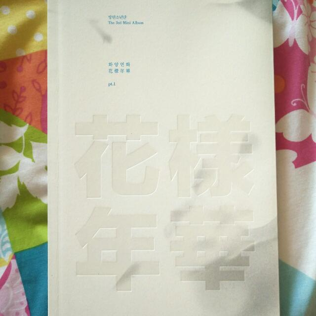 Bangtan Boys (BTS) 화양연화 Pt.1 Album White/Grey Ver.