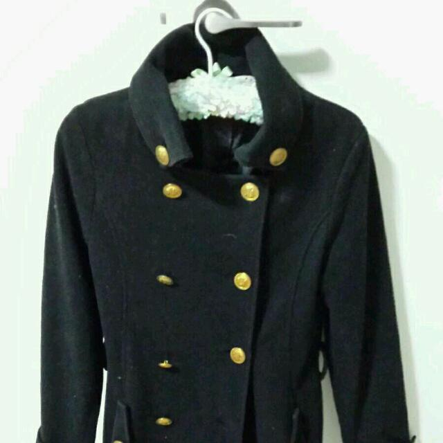 Black Baby Doll Jacket