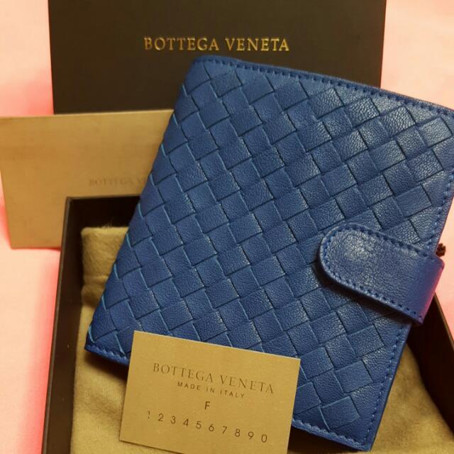 全新正品Bottega Veneta經典短夾