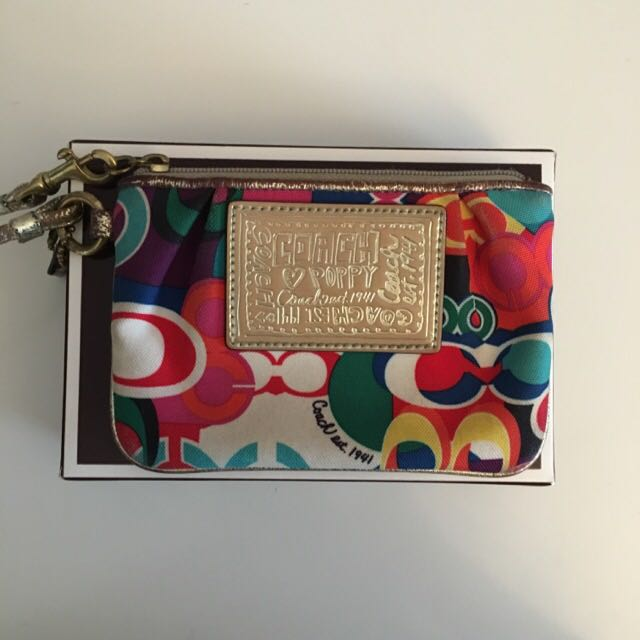 Coach Wristlet (Poppy Edition)