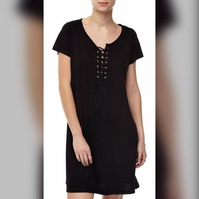 Cotton On Lace Up Dress