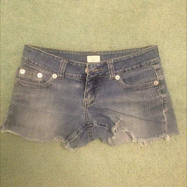 Denim Cut-off Short Shorts