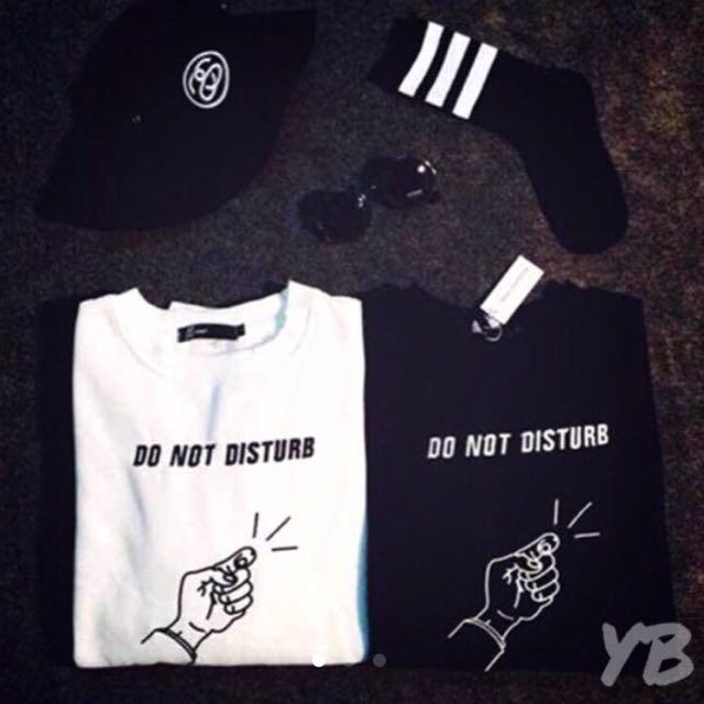 FREE SHIPPING☝🏻️DO NOT DISTURB SWEATSHIRT Black and White Bundle☝🏻️
