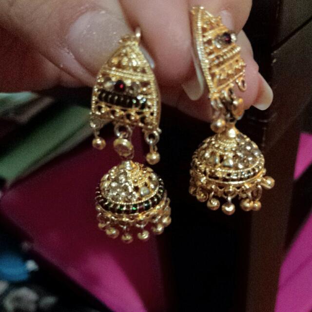 Earings Gold Plate
