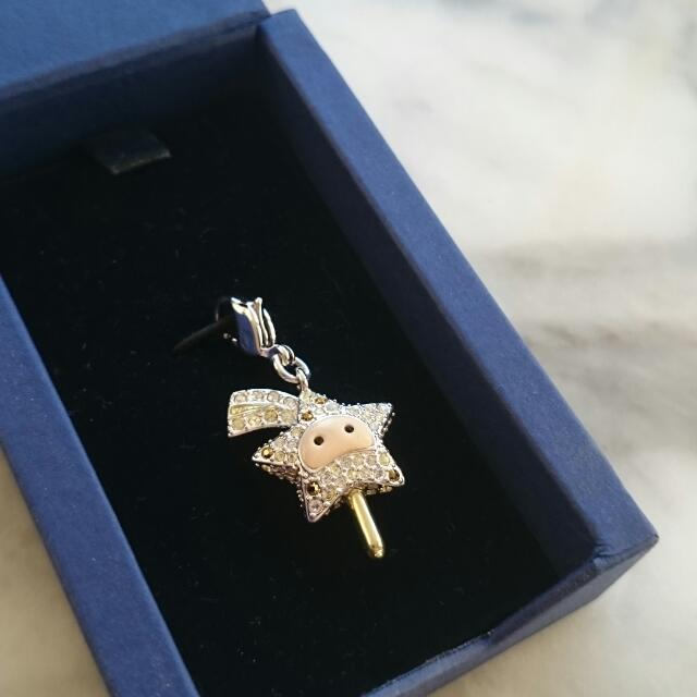 Excellent Used Condition Swarovski Star Charm