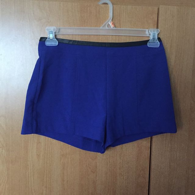 F21 Blue Shorts (NEW)