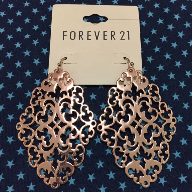 Forever21 Rose Gold Earrings