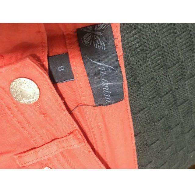 Forever New Apricot Denim Shorts