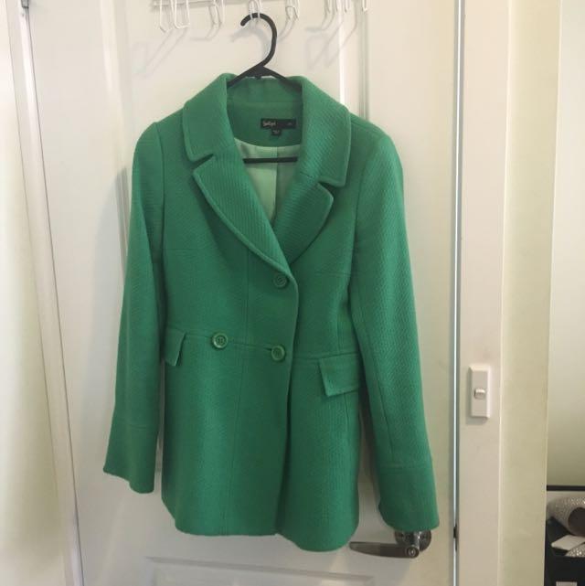 Green Sportsgirl Coat XS