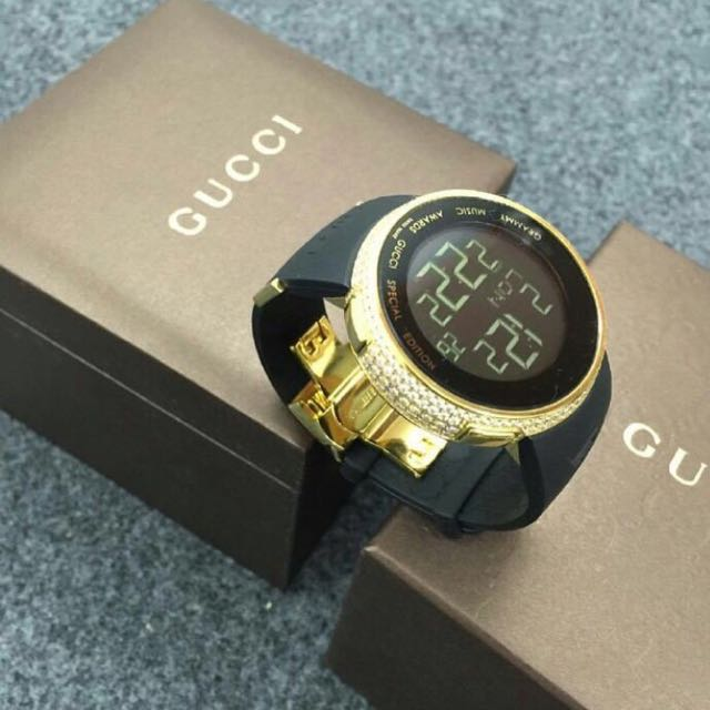 Gucci Diamond Watch Grammy Edition