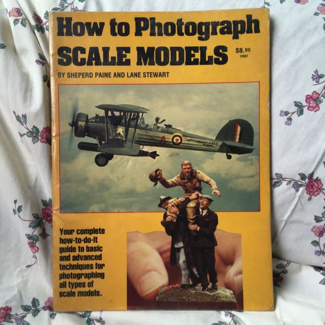 How To Photograph Scale Models, Books & Stationery on Carousell