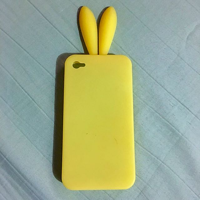 Iphone 4/4s bunny case (rubber)