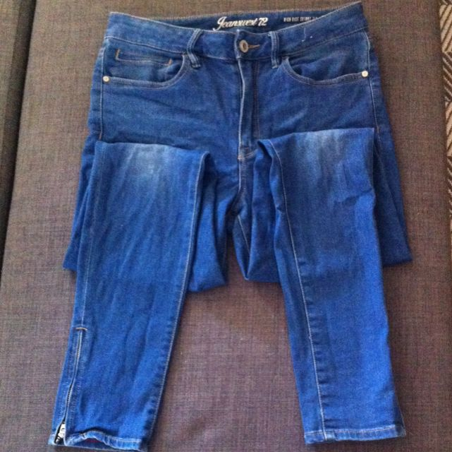 Jeanswest High rise Skinny 7/8 Size 12