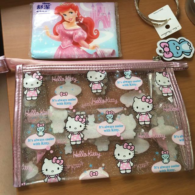 含運✨日本kitty化妝包