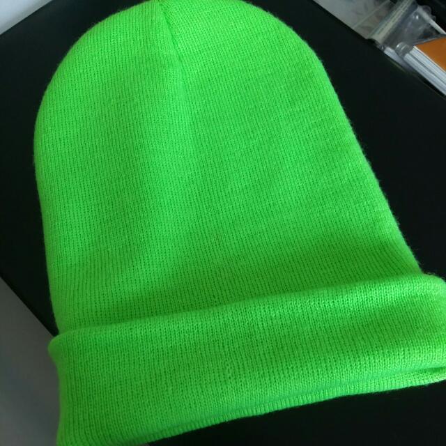 a9afb75c52334 Lime Green Beanie
