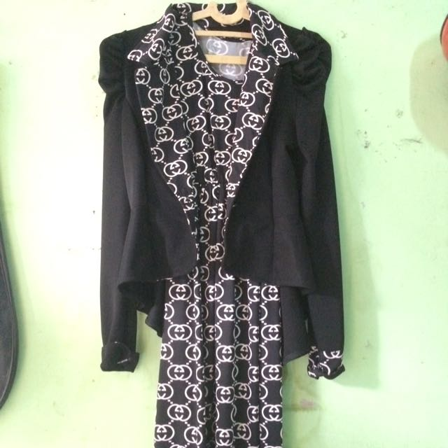 long dress + cardifan