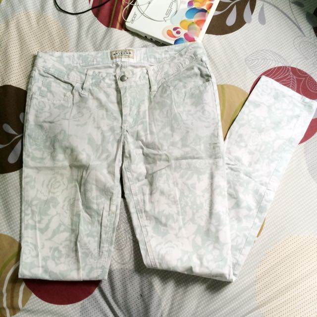 Long Floral Pants