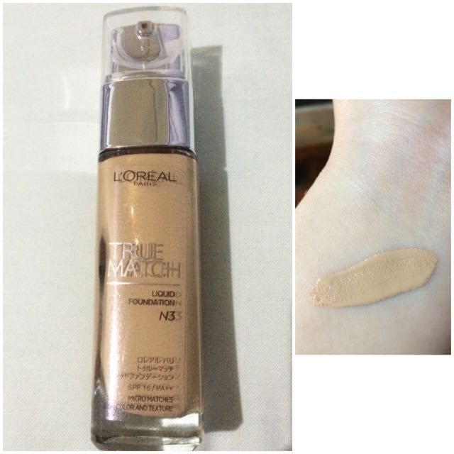 Loreal True Match Foundation - Almost New!!!