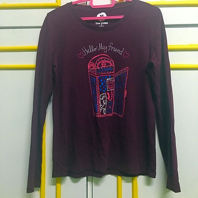 Maroon Sweatshirt