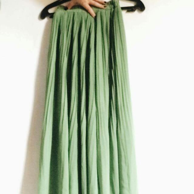 Maxi Skirt (Green)