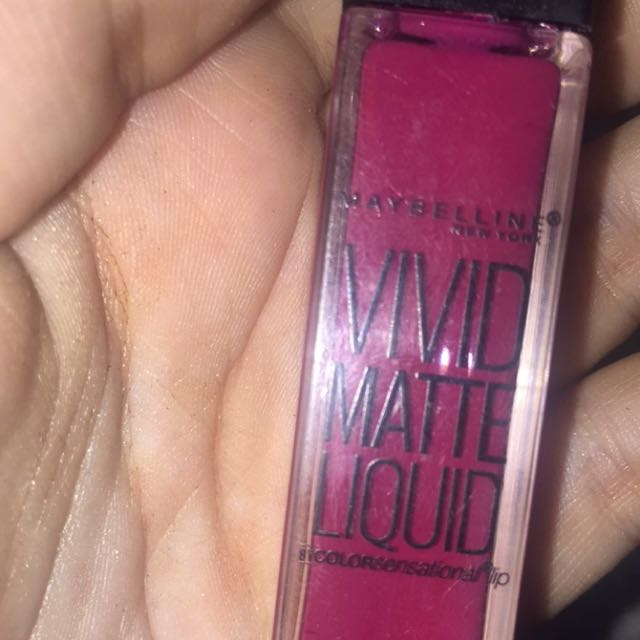 Maybelline Liquid Lipstick