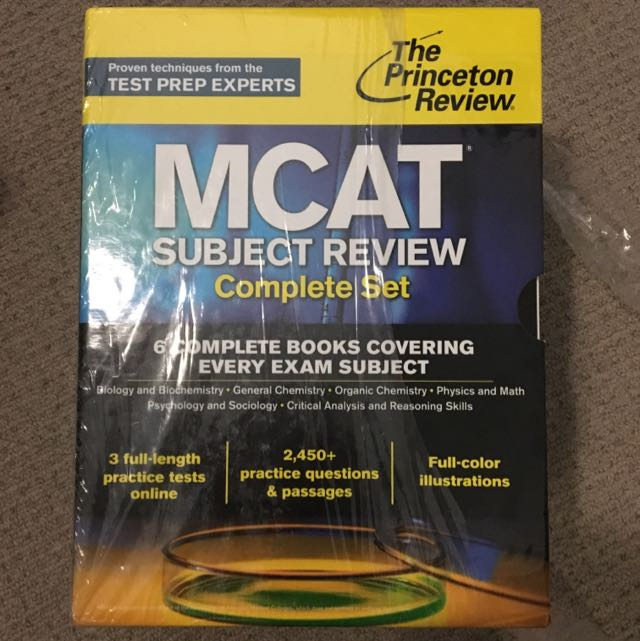 MCAT The Princeton Review
