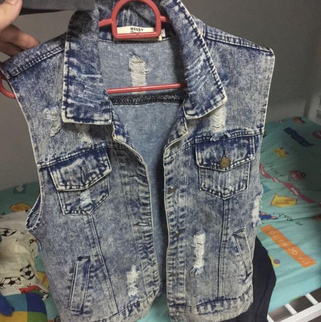 Men's Denim Outer Street Wear
